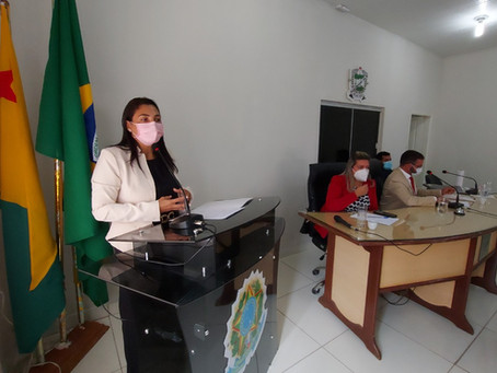 Rosana Gomes participa da abertura de ano legislativo na Câmara do Quinari