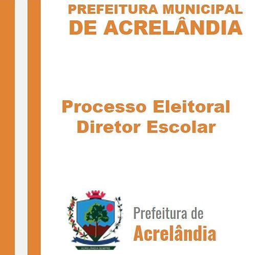 Processo Eleitoral - Diretor Escolar - REVOGADO