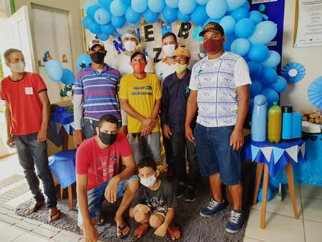 Na Vila do V homens recebem atendimentos e orientações sobre saúde e prevenção ao câncer de próstata