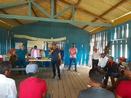 Vereadores prestigiam eleição para o presidente da Associação do Seringal Vila Nova