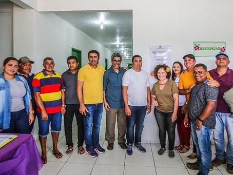 Prefeito Elson Farias e autoridades inauguram UBS Rocilda Pereira da Silva na comunidade de Alagoas
