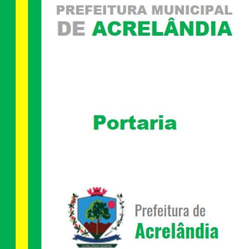 Portaria N°004/2021 - Nomear a Comissão Geral