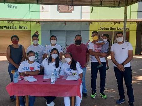 Vereador Amilton Costa prestigia imunização da população com idade igual ou superior a 30 anos