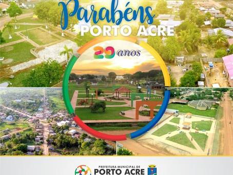 Porto Acre, 29 anos de autonomia política