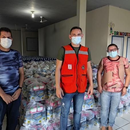 Prefeitura recebe quase 2 mil kits humanitários para atender famílias atingidas pela enchente