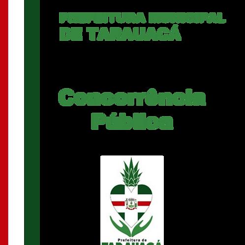 Concorrência Pública N° 002/2014 -  Construção de uma Praça da Juventude