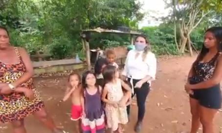Vereadora cobra autoridades para apoiar as famílias carentes do município