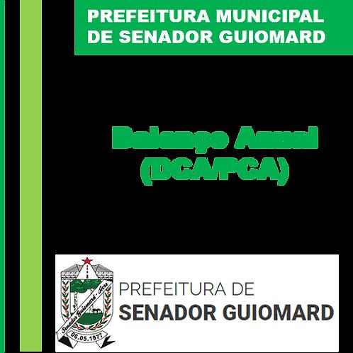 Balanço Anual 2018