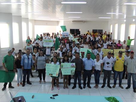 No Dia da Amazônia, Prefeitura e alunos vão as ruas pela preservação e combate às queimadas