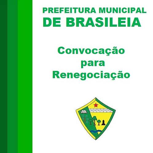 Convocação para Renegociação - Empresa AGRO NORTE IMPORTAÇÃO E EXPORTAÇÃO LTDA