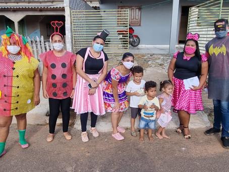 Programa Criança Feliz leva alegria as crianças de Senador Guiomard