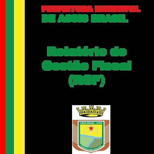 RGF 2019 - 1º Quadrimestre