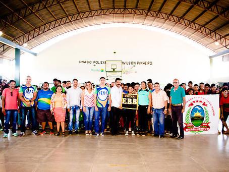 Prefeitura inicia Jogos Escolares fase Municipal 2019 em Epitaciolândia