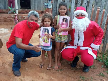 Prefeitura de Xapuri realiza Campanha Natal Feliz nos bairros da cidade