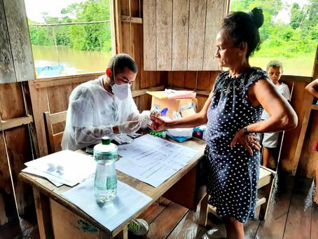 Prefeitura realiza ação de contenção de surto de malária e monitoramento para evitar coinfecção