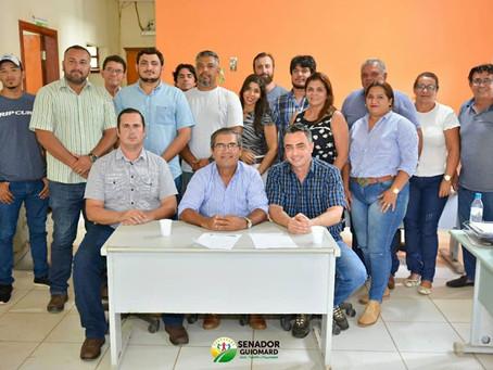 André Maia participa de reunião no IDAF para reforçar parcerias para 2020 em prol do Quinari