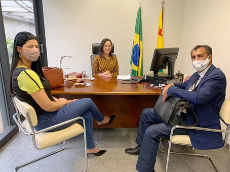 Prefeito Bené Damasceno busca recursos para investimentos em Porto Acre