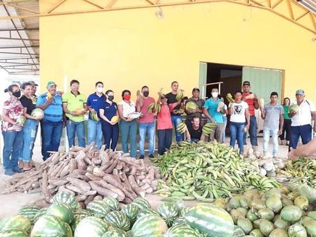 PAA/CDS garante compra de alimentos a preço justo e doação a famílias carentes em Assis Brasil
