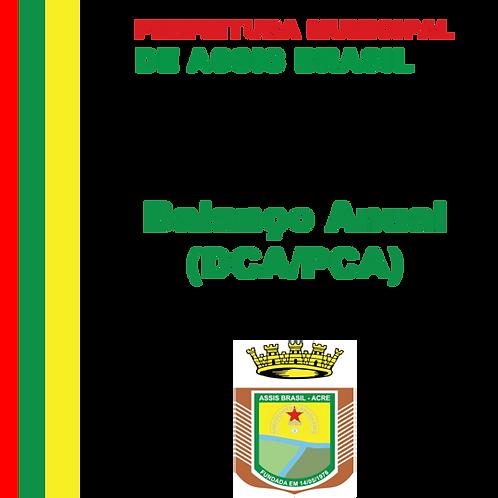 Balanço Anual 2015 (BCA/PCA)