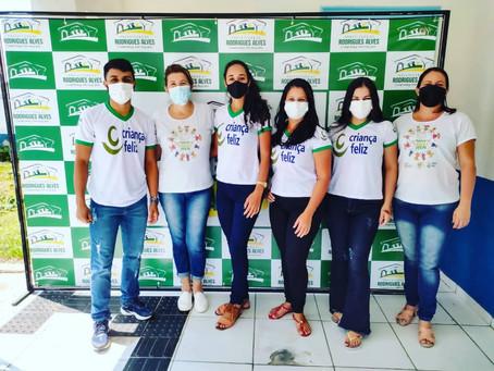 Em Rodrigues Alves, equipe estadual do Programa Criança Feliz (PCF) capacita visitadoras e superviso