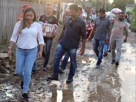 Prefeitura e Governo do Estado juntam forças para ajudar a  população