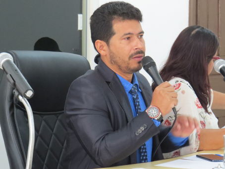 Presidente, vereador Pastor Uchoa pede intervenção em prol da comunidade do bairro Chico Paulo II