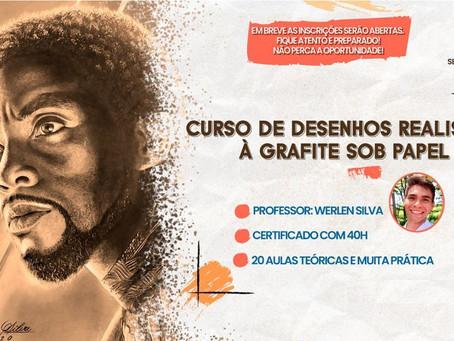 Secretaria Municipal de Cultura e Lazer ofertará Curso de Desenho