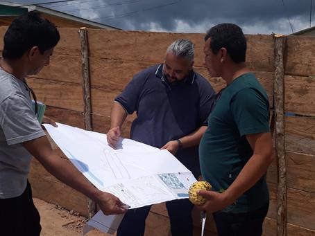 Construção da rampa municipal de acesso ao rio Juruá de Marechal Thaumaturgo
