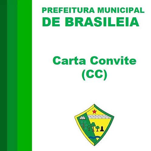 CC N° 001/2019 Consultoria e Assessoria técnica em gestão de saúde pública