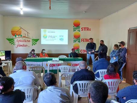 Secretários de Agricultura e Meio Ambiente, participam de reunião com produtores rurais do Quinari