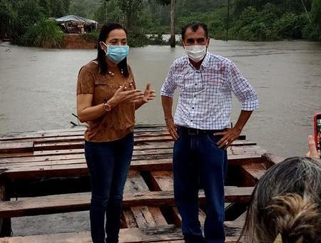 Prefeitura busca recursos para construção de ponte no Riozinho Andirá para atender 900 famílias