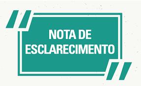 Nota de Esclarecimento - Convênio para Ampliação do Mercado Municipal