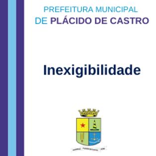 Inexigibilidade 001/2021 - Soluções para governança e gestão administrativa