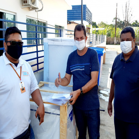 Secretaria de Saúde recebe equipamentos para conservação de vacinas
