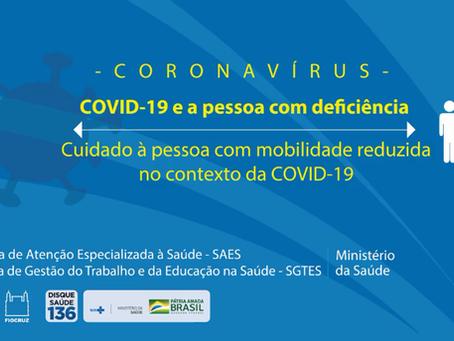 Prefeitura compartilha vídeos de cuidado à pessoa com deficiência no contexto da COVID-19