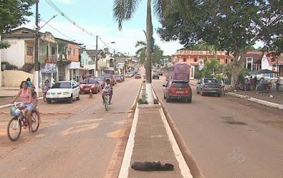 Avenida Principal da Cidade