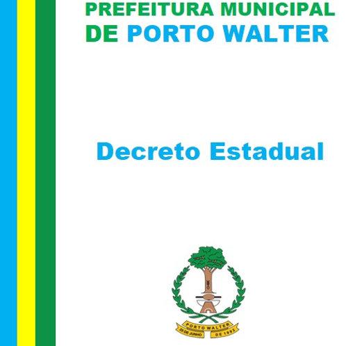 Decreto Estadual N°7.810/2021 - Restrição no horário de funcionamento