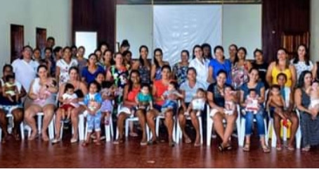 1° Encontro do grupo de gestante e casais grávidos de Rodrigues Alves