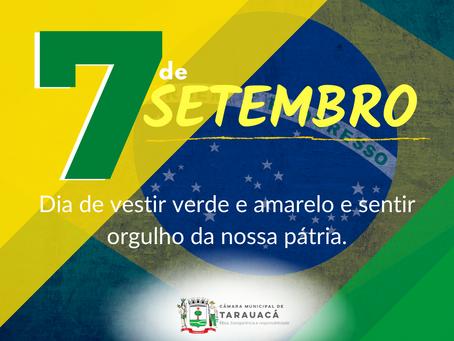 Comemoração ao dia 7 de Setembro