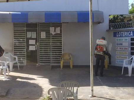 Prefeitura de Mâncio Lima inicia desinfecção de espaços públicos da cidade