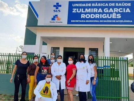 Outubro Rosa: UBS da Portelinha na campanha de prevenção ao câncer de mama