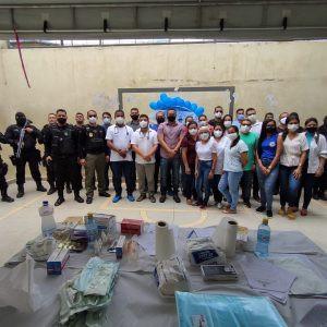 Presos de Tarauacá são contemplados com ação de saúde alusiva ao Novembro Azul