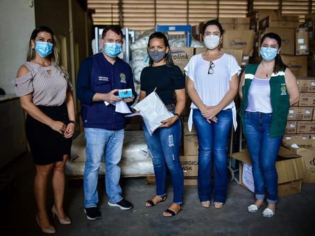 Porto Acre é beneficiada com doação de oxímetros e EPI's