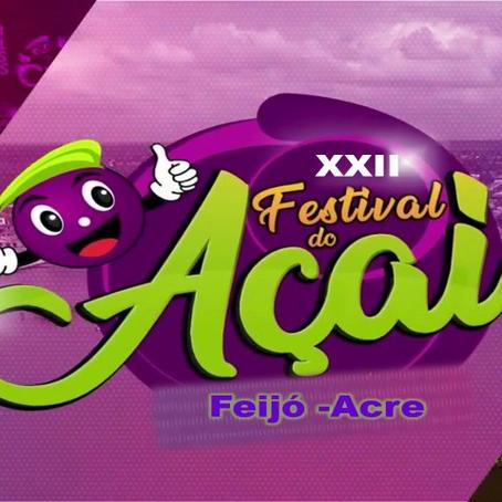 Prefeitura realizará o XXII Festival do Açaí 2021 (Edição Especial) com atrações no formato online