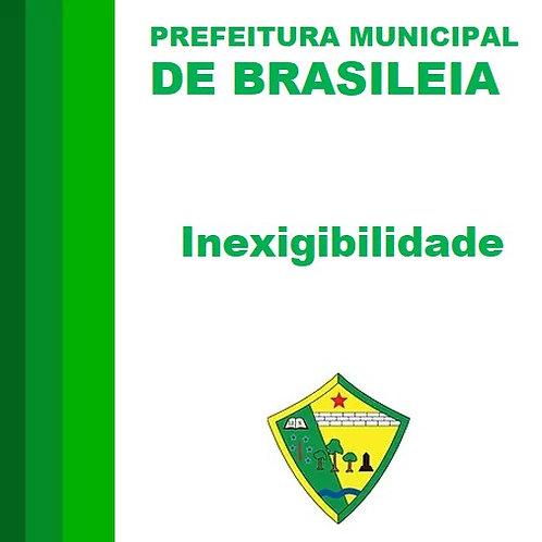 Inexigibilidade N° 001/2019  PRODUÇÃO MUSICAL E EVENTOS
