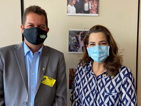 Prefeito garante meio milhão para implantação do Centro de Tratamento ao Autista em Feijó