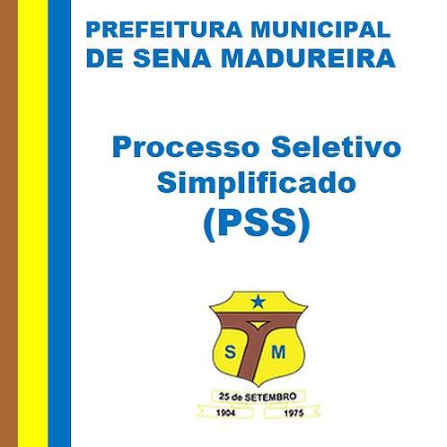 PSS Nº 002/2020 - SENA CULTURAL FEST