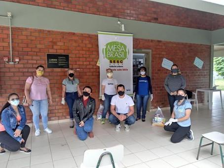 COVID-19: Ação do Programa Mesa Brasil em parceria com a FECOMÉRCIO/AC, SESC e Prefeitura de Xapuri
