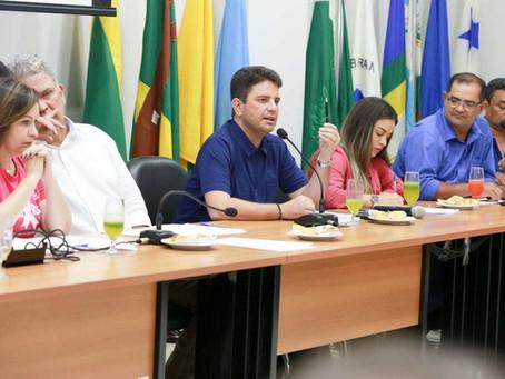 Tanizio Sá participa de reunião por destinação de emendas de bancada para Manoel Urbano
