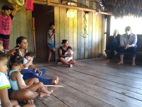 Comunidades Pedra pintada e Santo Antônio I recebem benfeitorias da gestão do prefeito Isaac Piyãko